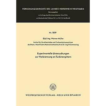 Experimentelle Untersuchungen Zur Verbrennung an Turbinengittern by Muller & Werner