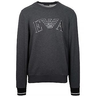Emporio Armani Loungewear Grey Eagle Crew Neck Sweatshirt