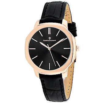 Christian Van Sant Women's Octave Slim Black Dial Watch - CV0504