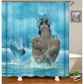Photogenic Mermaid Shower Curtain