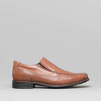 Anatomic & Co. Frutal Mens Leather Slip On Shoes Havana