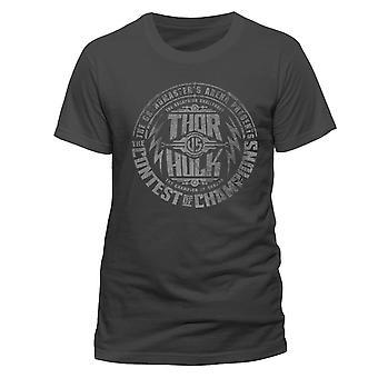 Thor: Ragnarok aikuisten Unisex aikuisten Contest T-paita