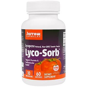 Lyco-Sorb Lycopene 10 mg (60 Softgels) - Fórmulas Jarrow