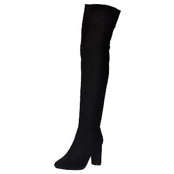 Onlineshoe Over The Knee Thigh High Heeled Boot