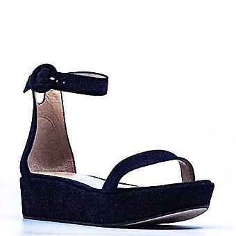 Stuart Weitzman Womens capri Fabric Open Toe Special Occasion Ankle Strap San...