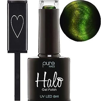 Halo Gel Nails Book Of Shadows 2019 LED/UV Gel Polish Collection - Venom & Magnete 8ml (N2746)