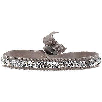 Les Interchangeables A24986 armbånd - Beige krystaller af høj kvalitet damearmbånd