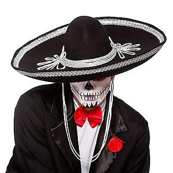 الأشرار ازياء السود سومبريرو -- يوم من الموتى