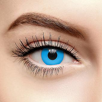 Blue UV i-Glow Coloured Contact Lenses (30 Day)