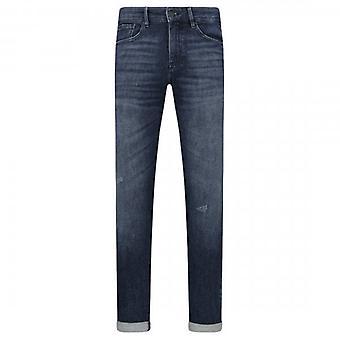 Hugo Boss Charleston BC Travel Mid Blue Washed Extra Slim Jeans 420 50421563