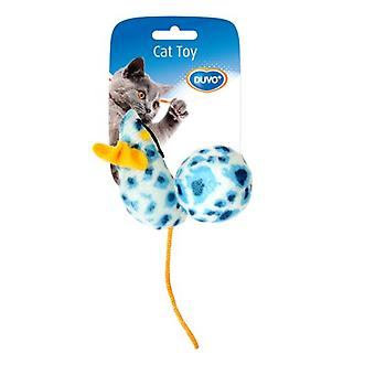 Duvo+ Cat toy mouse with a ball Leopard 10 x 4 x 4 cm (Cats , Toys , Mice)