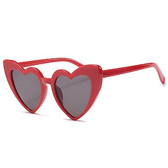 Retro srdce v tvare slnečné okuliare dáma nadsemešné UV400