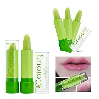 Make-up: Color Changing Lipstick Green Lipstick With Magic Changing Effect To Pink
