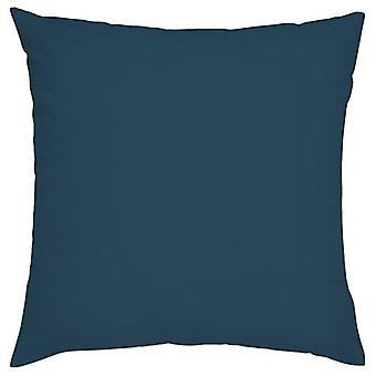 "Marroquí azul llanura 18"" 45cm al aire libre cojín cubierta impermeable jardín patio"