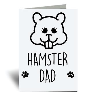 Tarjeta de felicitación Hamster Dad A6
