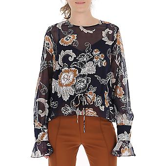 See By Chloé Chs19aht170224za Women's Multicolor Polyester Blouse