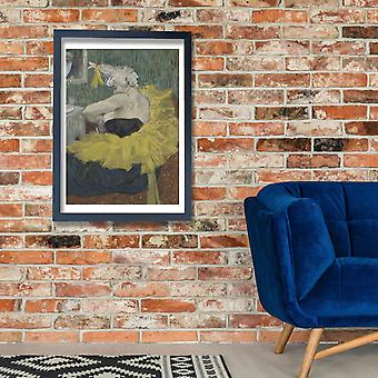 Henri Toulouse Lautrec - The Clown Cha-U-Kao Poster Print Giclee