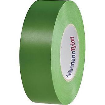HellermannTyton HelaTape Flex 15 710-00154 Elektrische tape HelaTape Flex 15 Groen (L x B) 20 m x 19 mm 1 st(en)