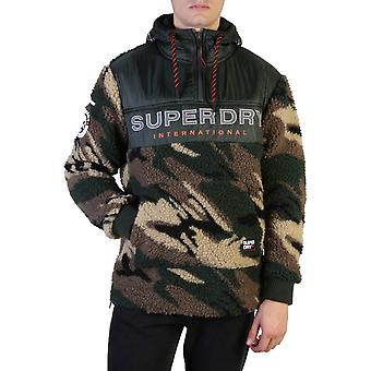 Superdry Original Men Fall/Winter Sweatshirt - Green Color 37610