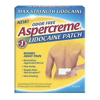 Aspercreme lidocaine patch, 5 ea