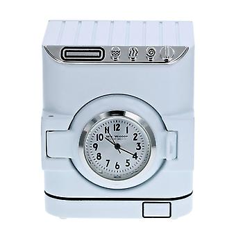 WM Widdop White Washing/ Laundry Machine Miniature Novelty Collectors Desk Horloge 9707