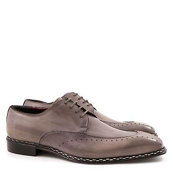Men's italian leather dress shoes handmade in Italy