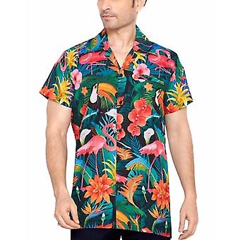 Club cubana miesten & #039;s säännöllinen sovi klassinen lyhythihainen rento paita cdkupb603