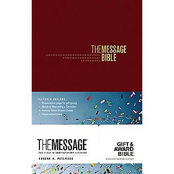 Message Gift and Award Bible - Black by Eugene H. Peterson - 97816314