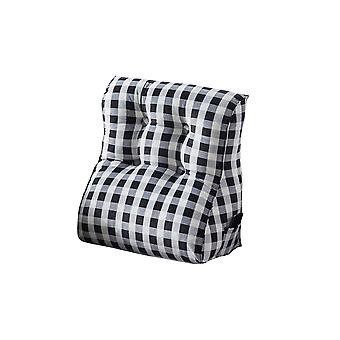 Upholstered cushions, bedside sofa backrest triangle cushions, super soft bedroom living room, reading backrest cushions, washable