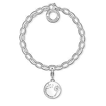 THOMAS SABO Pulsera con plata mujer encanto - SET0336-051-14-M