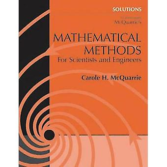 Student Solutions Manual for Mathematical Methods for Scientists and