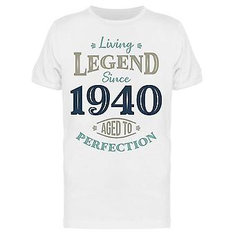 Since 1940 Aged To Perfection Men's T-shirt