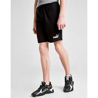 New Puma Boys' Essential Soft Cotton Sweat Shorts Black