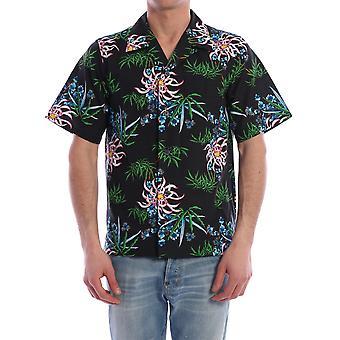 Kenzo Fa55ch5291li99 Men''s Multicolor Cotton Shirt