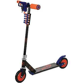 Nerf blaster scooter with blaster & darts mv sports ages 5-8 years old