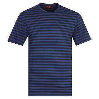 Barena Giro Vogador Marineblå Stripe T-skjorte