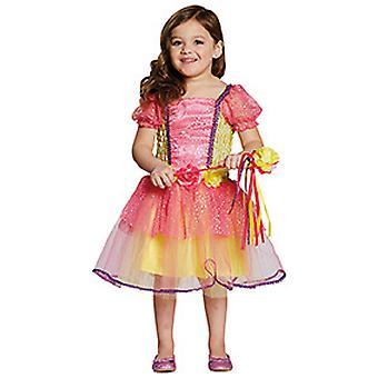 Pink Garden Princess Blumen Prinzessin Kinder Kostüm Mädchen