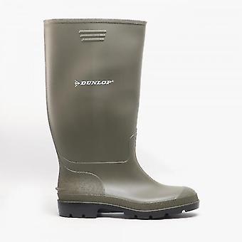 Dunlop Pricemastor Mens Icke-säkerhet Wellington Boots Green