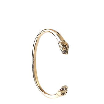 Alexander Mcqueen 554482j160t0448 Men's Gold Brass Bracelet