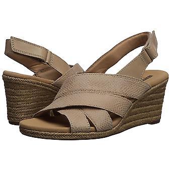Clarks Womens Krissy Open Toe Casual Espadrille Sandals