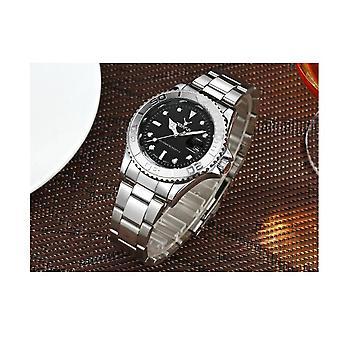 Echte Deerfun Hommage Uhr Schwarz Silber Smart Uhren Direktverkauf