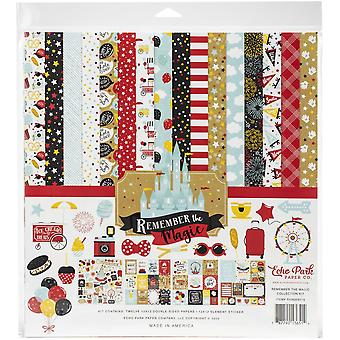 Echo Park Remember The Magic 12x12 Inch Collection Kit
