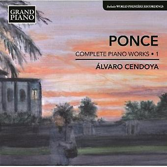 Ponce - Manuel Ponce: Complete Piano Works, Vol. 1 [CD] USA import