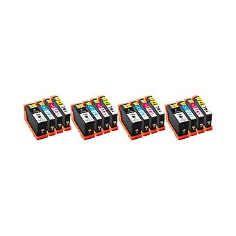 RudyTwos 4x Replacement for Lexmark 100XL Set Ink Unit Black Cyan Magenta & Yellow Compatible with Impact S300, S301, S302, S305, S308, Interact S601, S602, S605, S606, S608, Interpret S402, S405, S40
