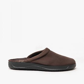 Rohde 2773 Mens Slip On Mule Slippers Mocca