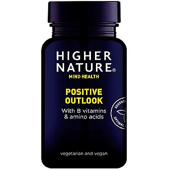 Higher Nature Positive Outlook Vegetable Capsules 180 (QPO180)