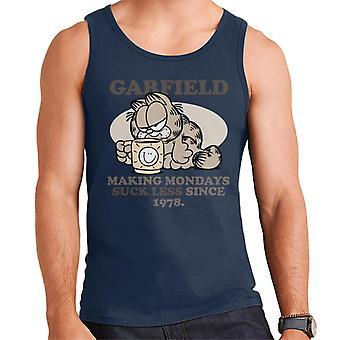 Garfield koffiemok maken maandag zuigen minder sinds 1978 mannen ' s vest