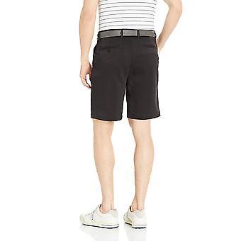 Essentials Men's Standard Classic-Fit Stretch Golf Short, Black, 32
