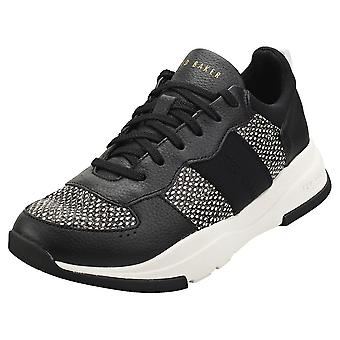 Ted Baker Weverds Womens Fashion Trainers in Black