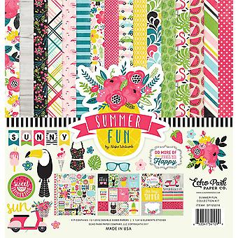 Echo Park Summer Fun 12x12 Inch Collection Kit